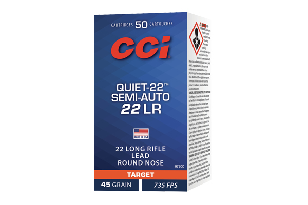 CCI 22LR 40GR LRN SA QUIET 50/5000 - for sale