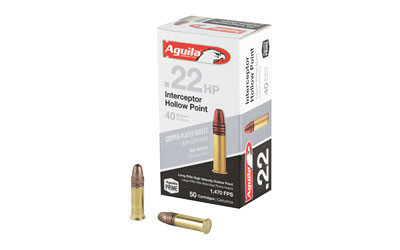 AGUILA 22LR INTERCPT 40GR HP 50/5000 - for sale