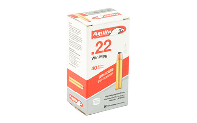 AGUILA 22WMR 40GR SP 50/1000 - for sale