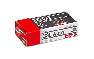 AGUILA 380ACP 95GR FMJ 50/1000 - for sale