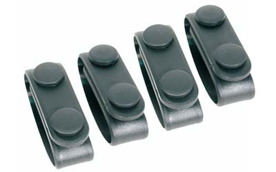 BH MOLDED BLT KEEPERS (4) BLK - for sale
