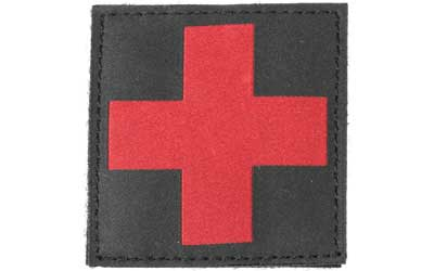BH REDCROSS ID PATCH BLK - for sale
