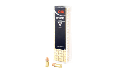 CCI 22 SHORT AMMO 100/5000 - for sale