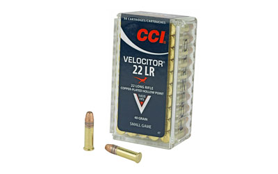 CCI 22LR VELOCITOR 40GR HP 50/5000 - for sale