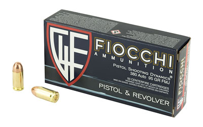 FIOCCHI 380ACP 95GR FMJ 50/1000 - for sale