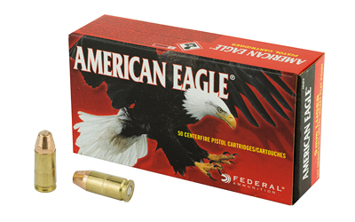 FED AM EAGLE 9MM 147GR FMJ 50/1000 - for sale