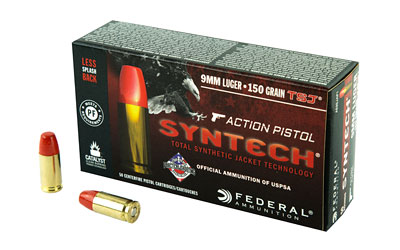 FED SYNTECH 9MM 150GR TSJ 50/500 - for sale