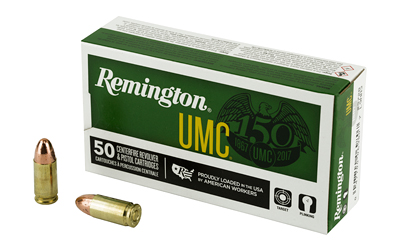 REM UMC 9MM 115GR FMJ 50/500 - for sale