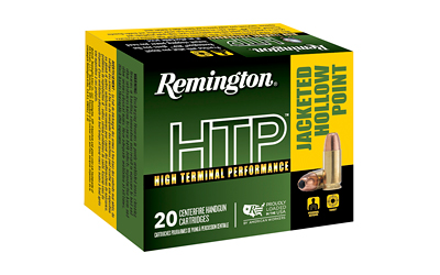 REM HTP 9MM +P 115GR JHP 20/500 - for sale