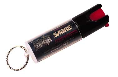 SABRE SPRAY KEY RING UNIT .54OZ - for sale