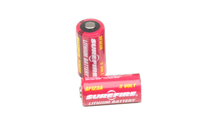 SUREFIRE SF123A BATTERIES 2PK - for sale