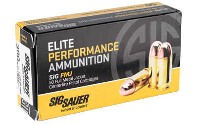 SIG AMMO 380ACP 100GR FMJ 50/1000 - for sale
