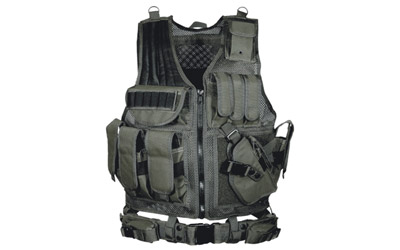 UTG LE TACTICAL VEST BLACK - for sale